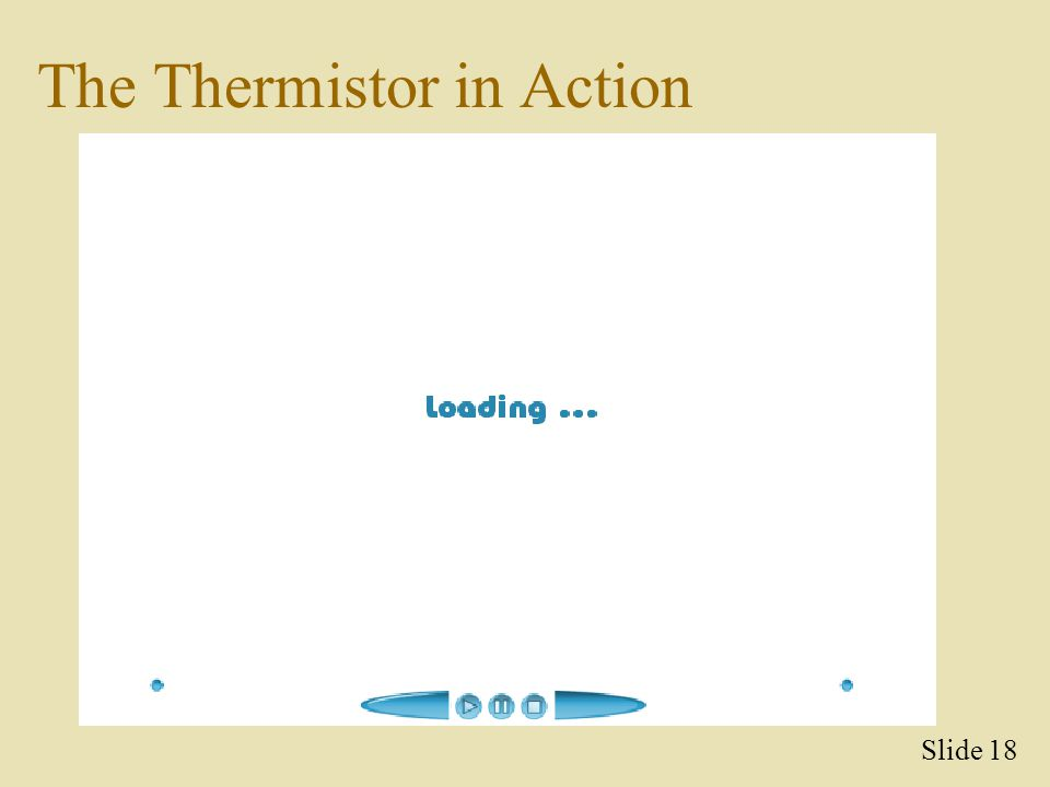 The Thermistor in Action