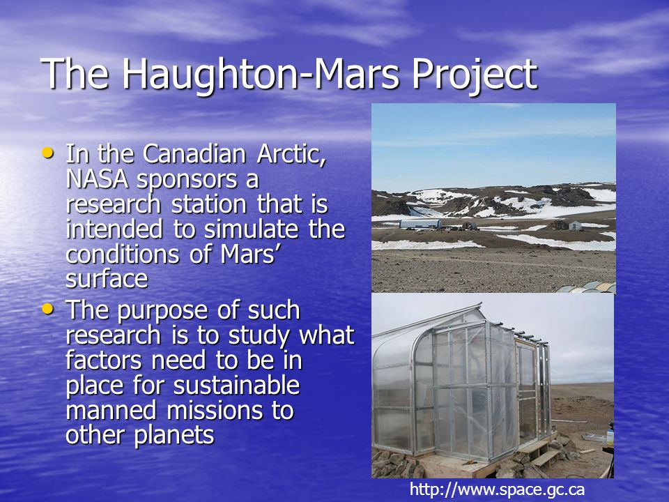 The Haughton-Mars Project