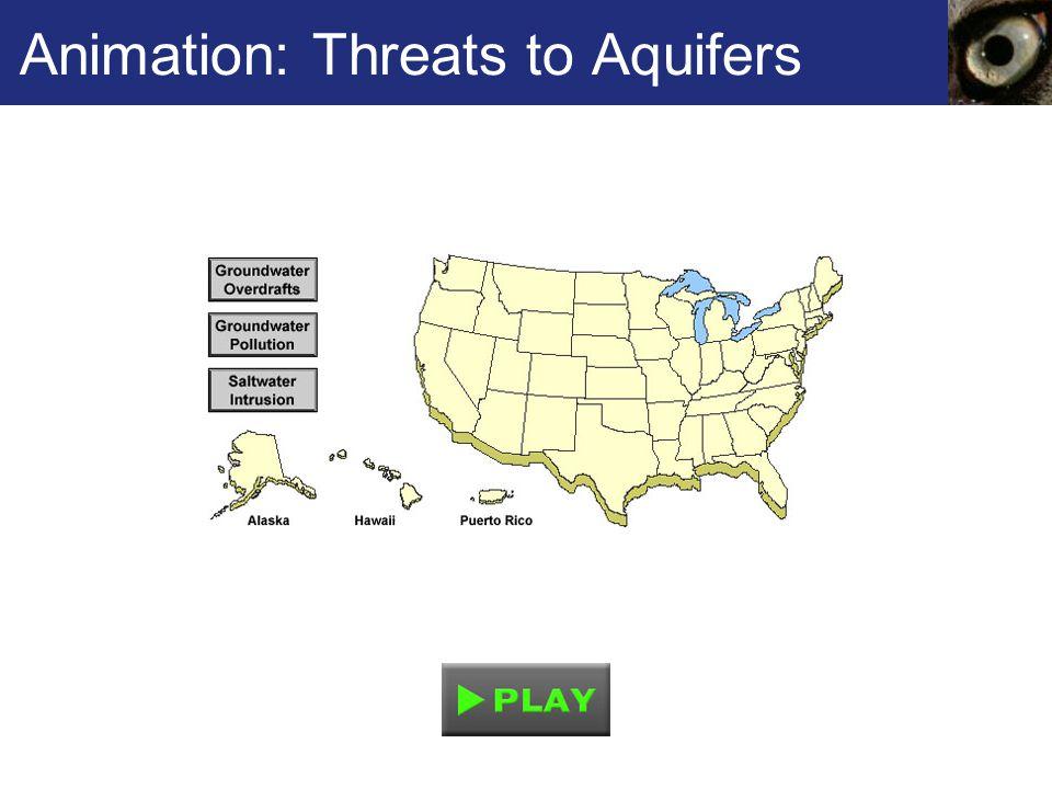 Animation: Threats to Aquifers