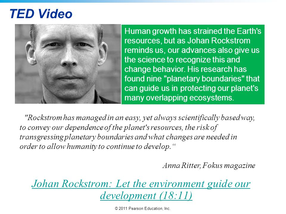 Johan Rockstrom: Let the environment guide our development (18:11)