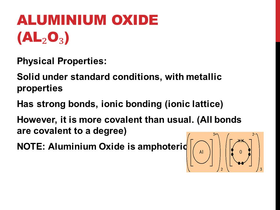 Aluminium Oxide (Al₂O₃)