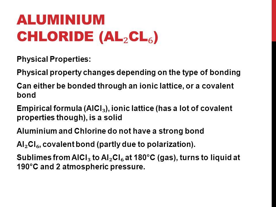 Aluminium Chloride (Al₂Cl₆)