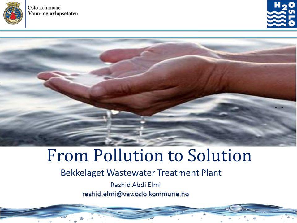Bekkelaget Wastewater Treatment Plant