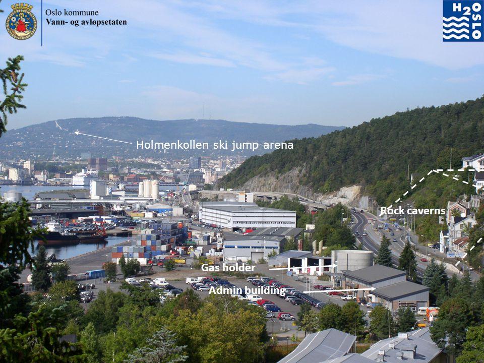 Holmenkollen ski jump arena