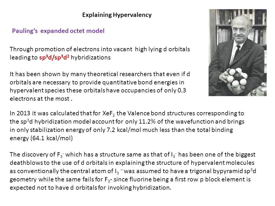 Explaining Hypervalency