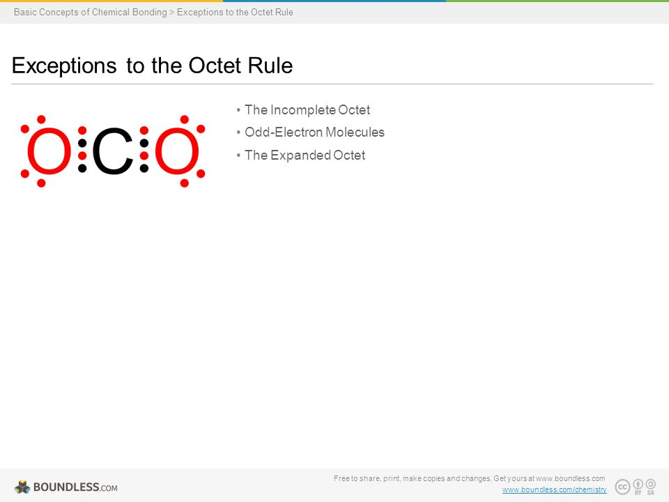 Exceptions to the Octet Rule