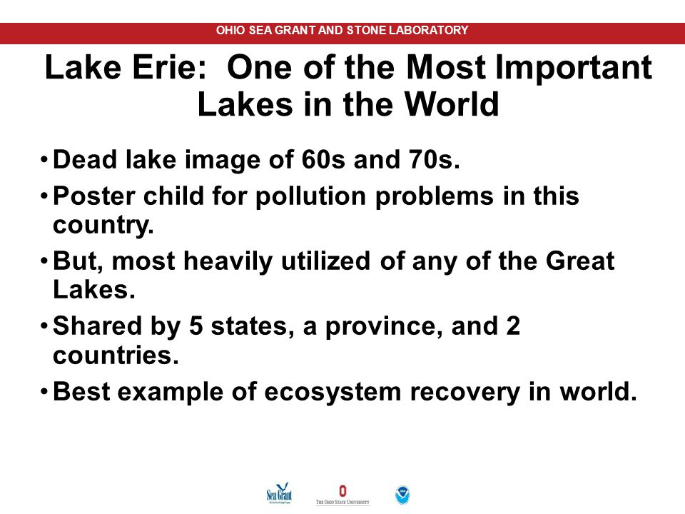 Lake Erie: One of the Most Important Lakes in the World