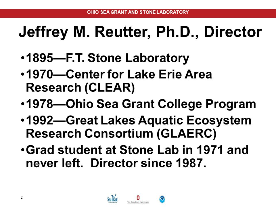 Jeffrey M. Reutter, Ph.D., Director