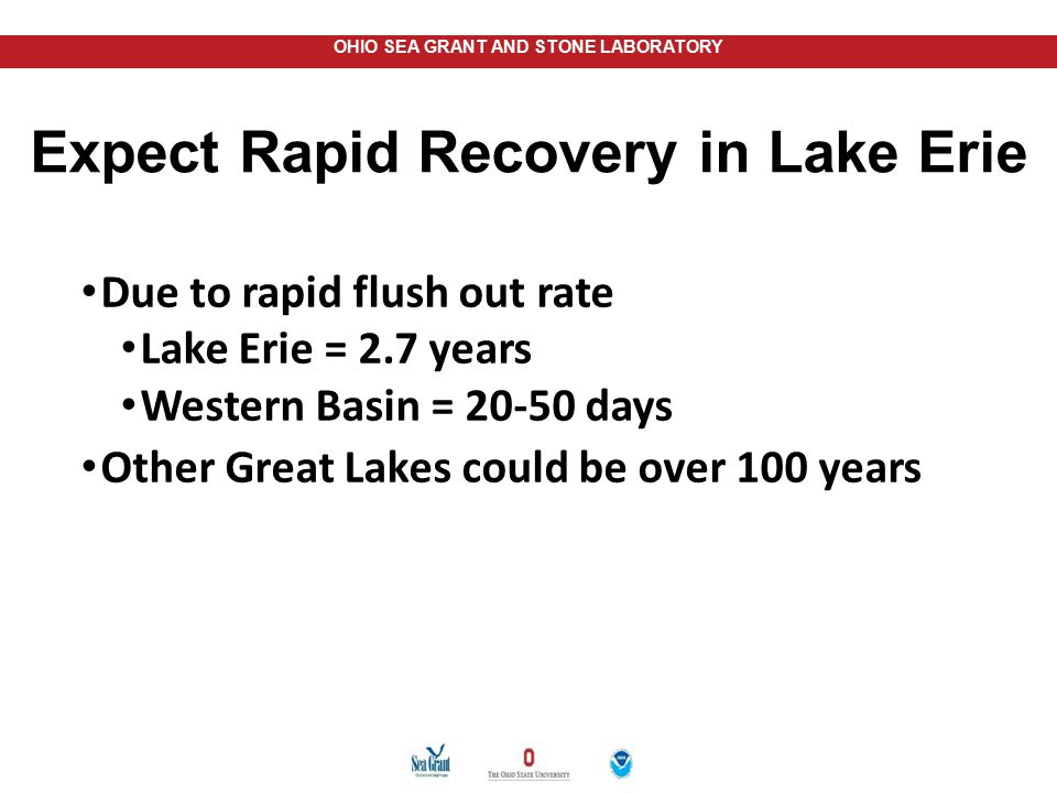 Expect Rapid Recovery in Lake Erie