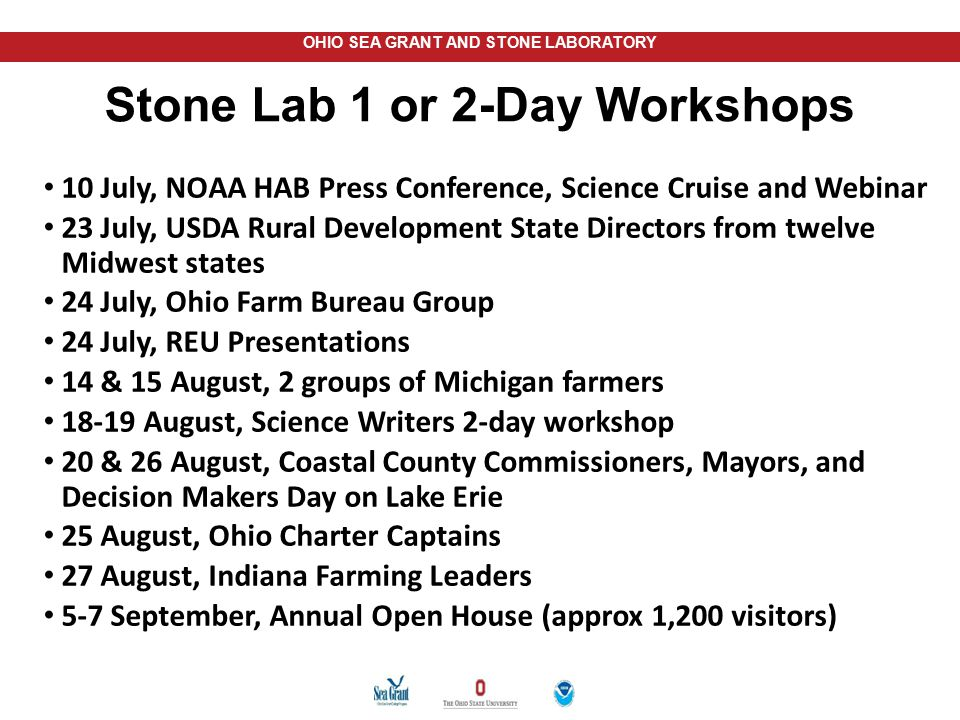 Stone Lab 1 or 2-Day Workshops