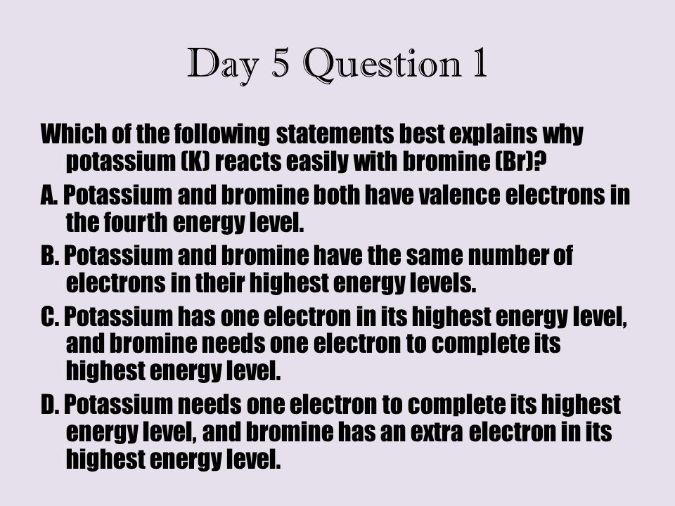 Day 5 Question 1