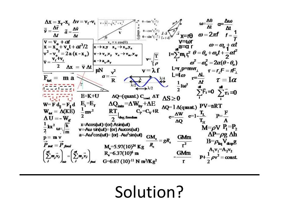 We dont really know the solution of this formula but what we know is…