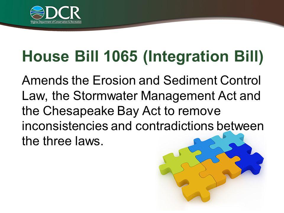 House Bill 1065 (Integration Bill)