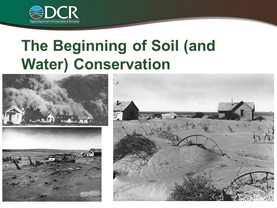 The Beginning of Soil (and Water) Conservation