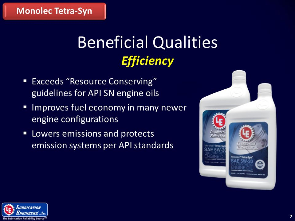 Beneficial Qualities Efficiency Monolec Tetra-Syn