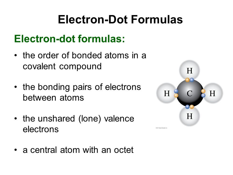 Electron-Dot Formulas