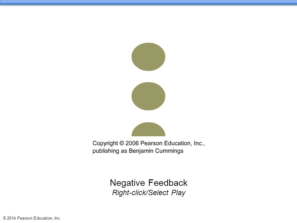 Negative Feedback Right-click/Select Play