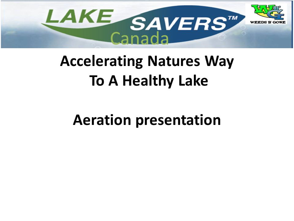 Accelerating Natures Way Aeration presentation