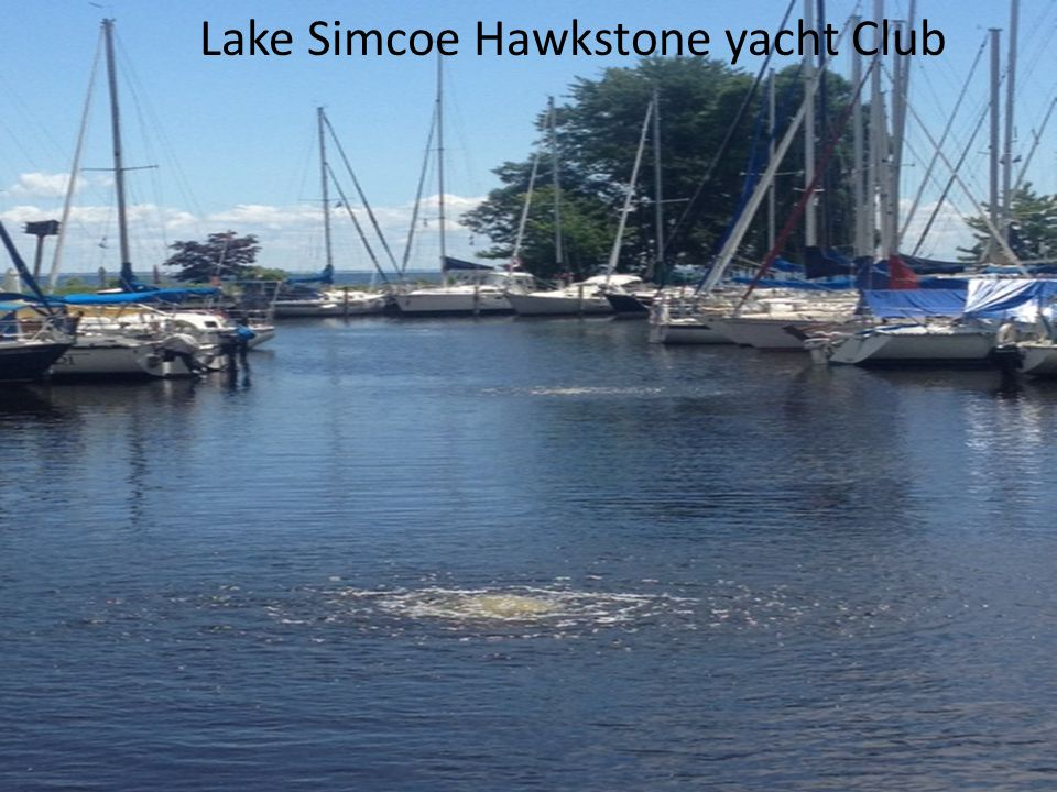 Lake Simcoe Hawkstone yacht Club