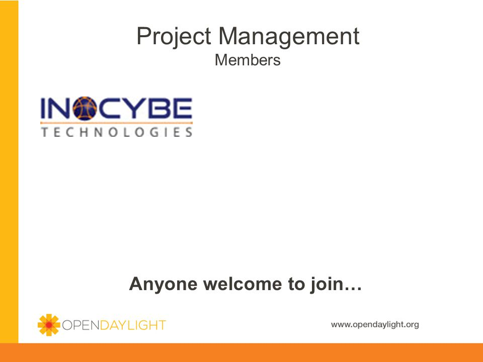Project Management Members