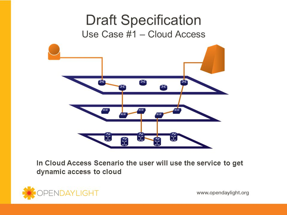 Draft Specification Use Case #1 – Cloud Access