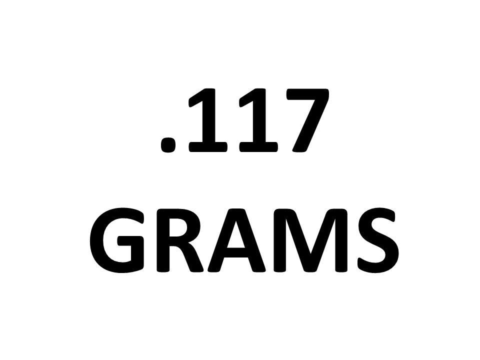.117 grams