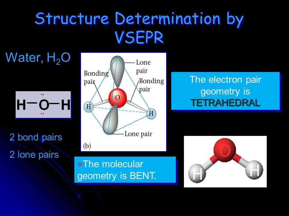 Structure Determination by VSEPR