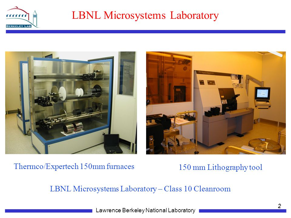 LBNL Microsystems Laboratory