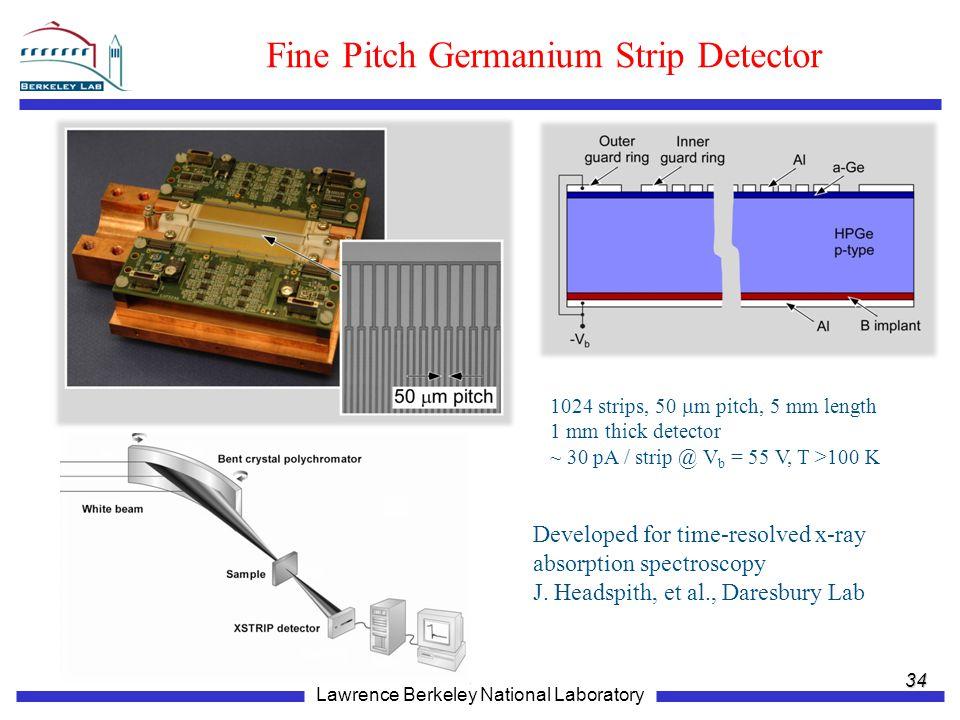 Fine Pitch Germanium Strip Detector