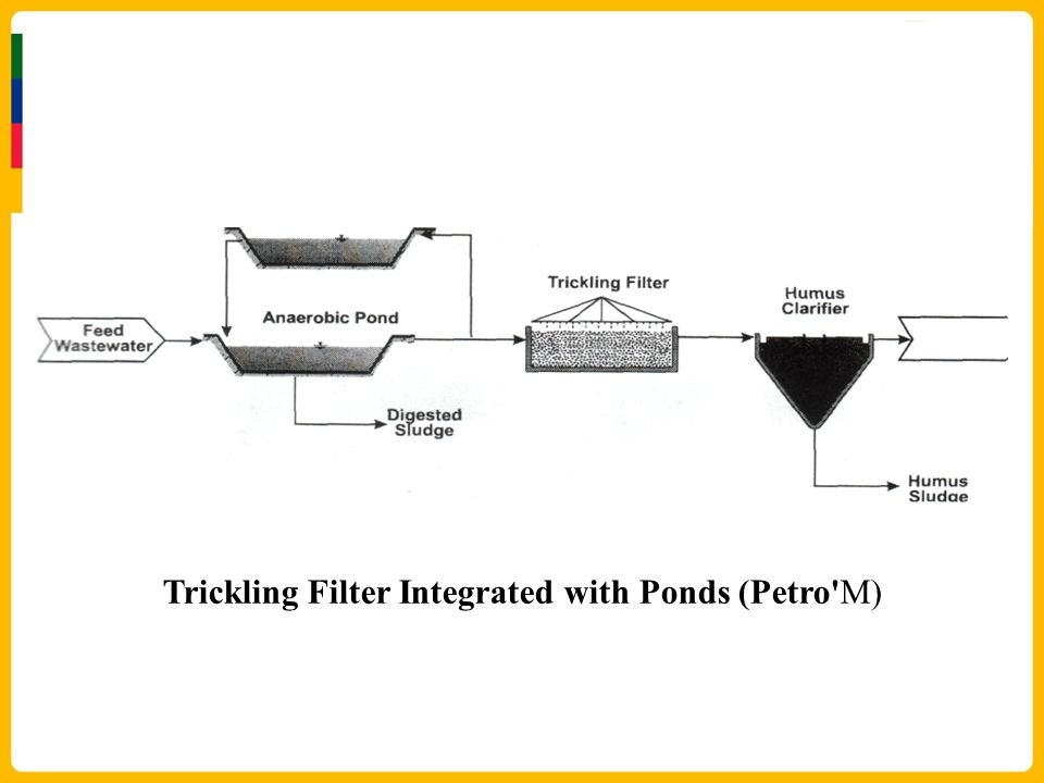 Trickling Filter Integrated with Ponds (Petro M)