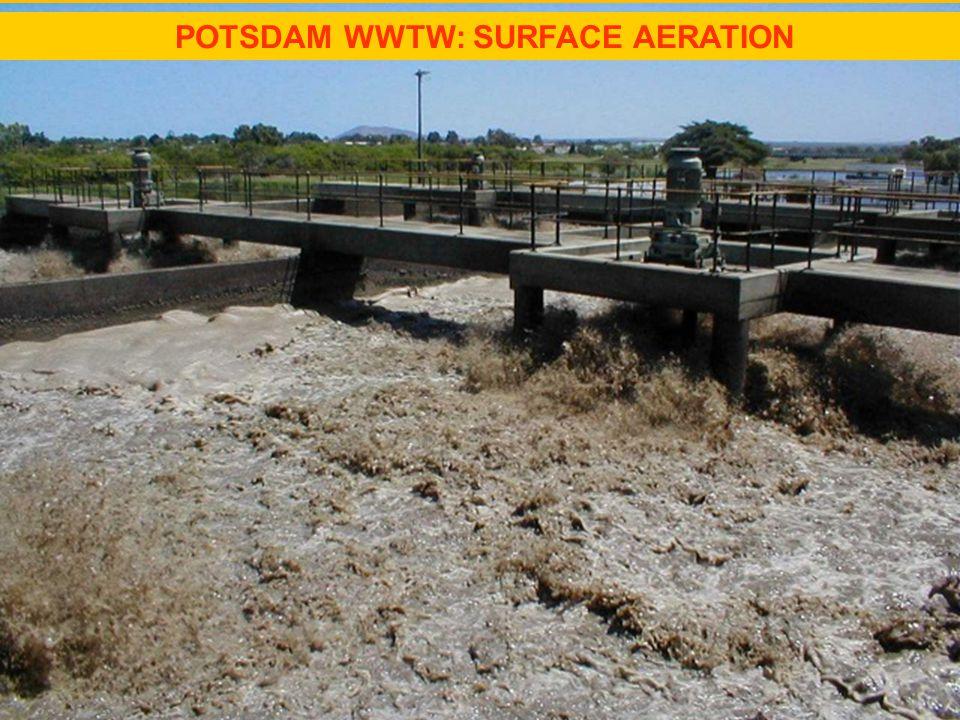 POTSDAM WWTW: SURFACE AERATION