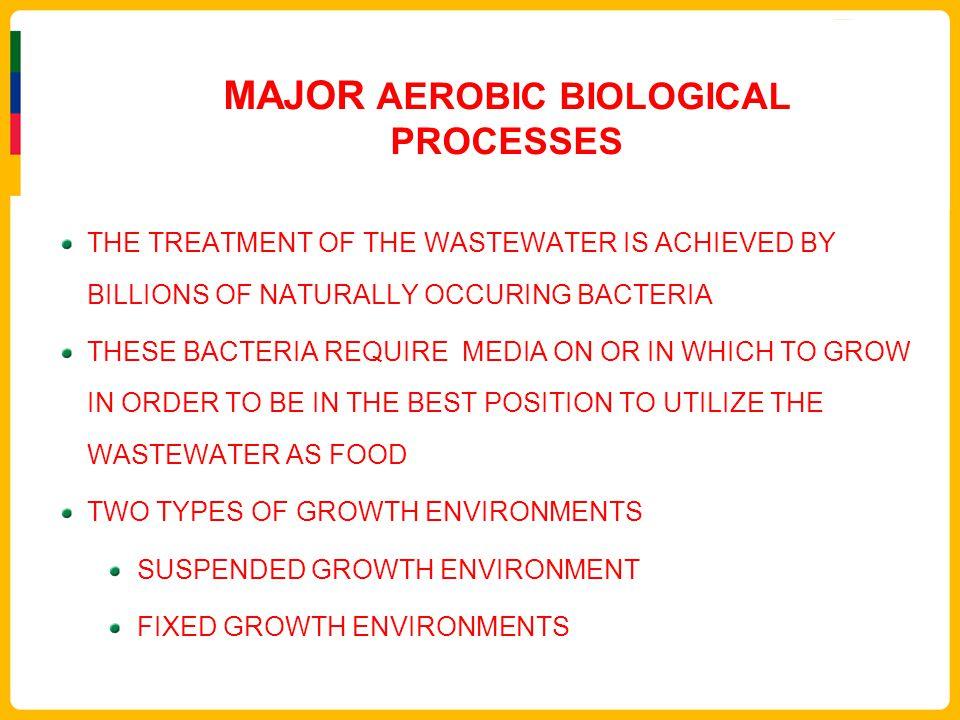 MAJOR AEROBIC BIOLOGICAL PROCESSES
