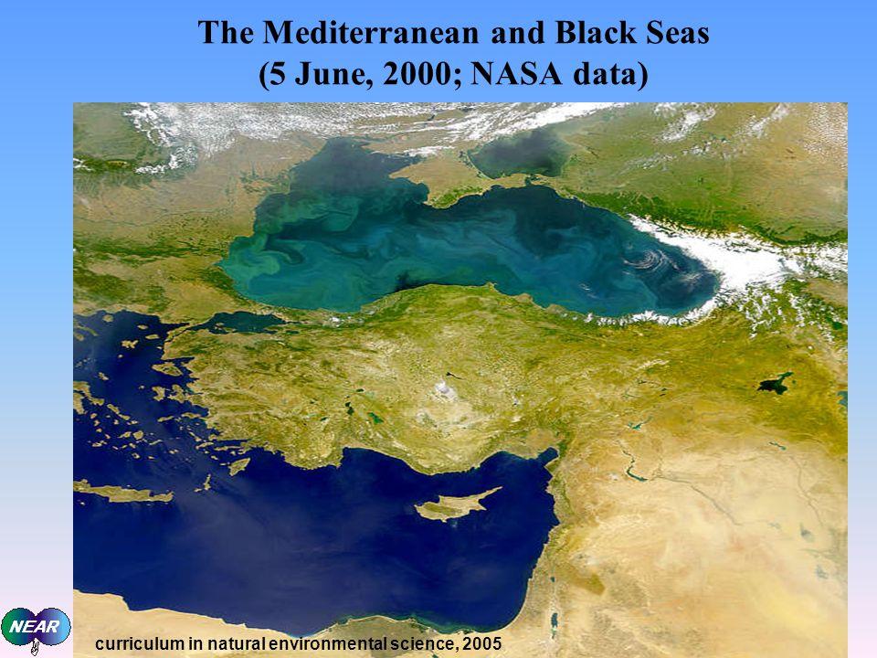The Mediterranean and Black Seas (5 June, 2000; NASA data)