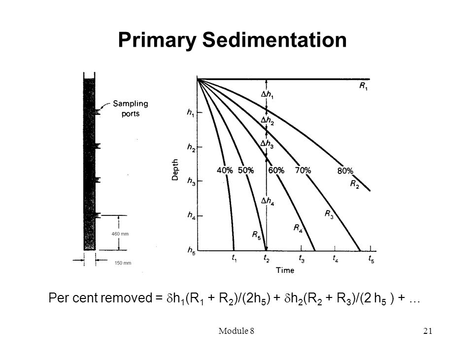 Primary Sedimentation