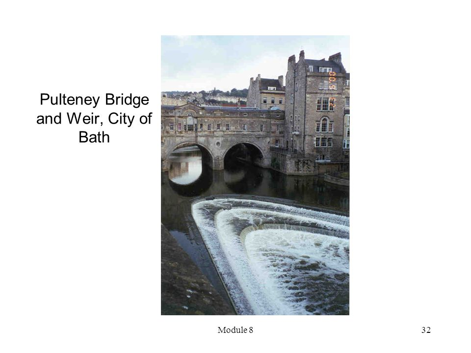 Pulteney Bridge and Weir, City of Bath
