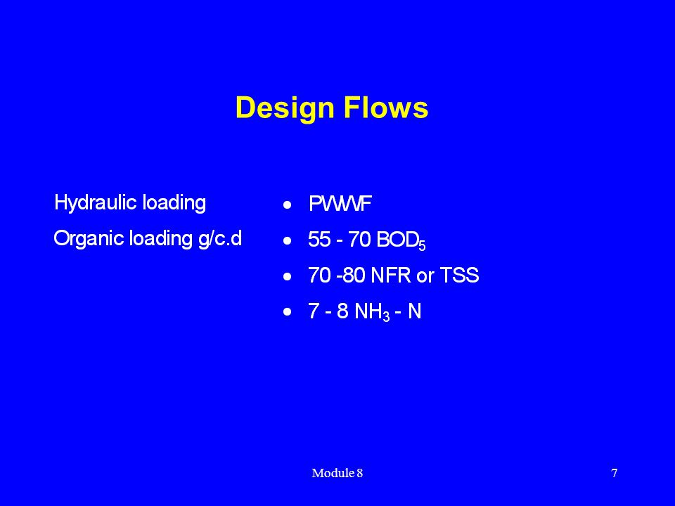 Design Flows Module 8