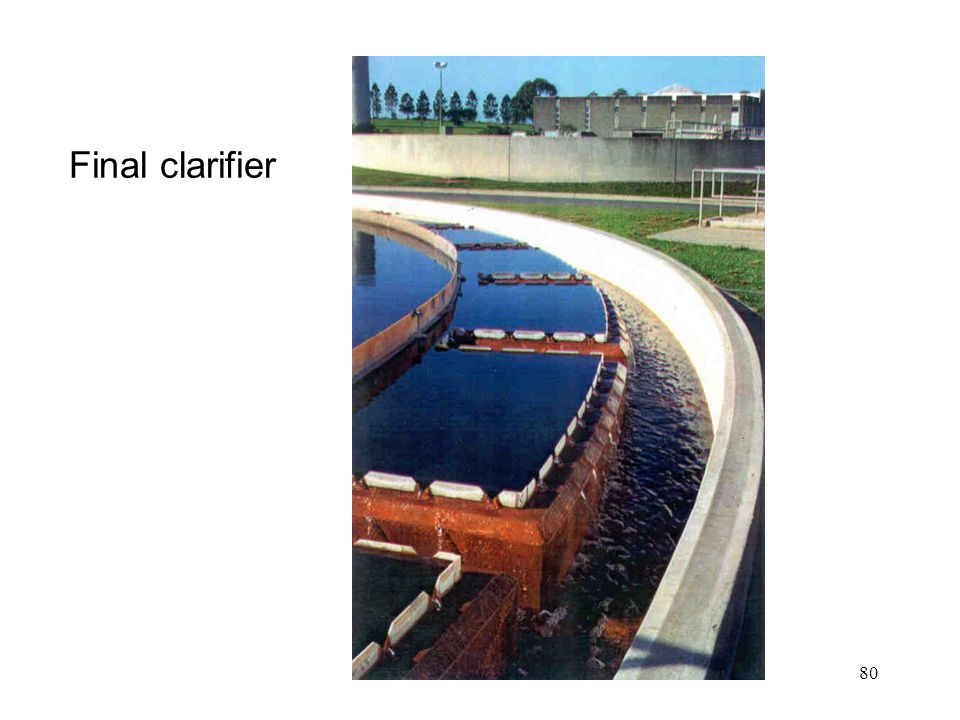 Final clarifier Module 8