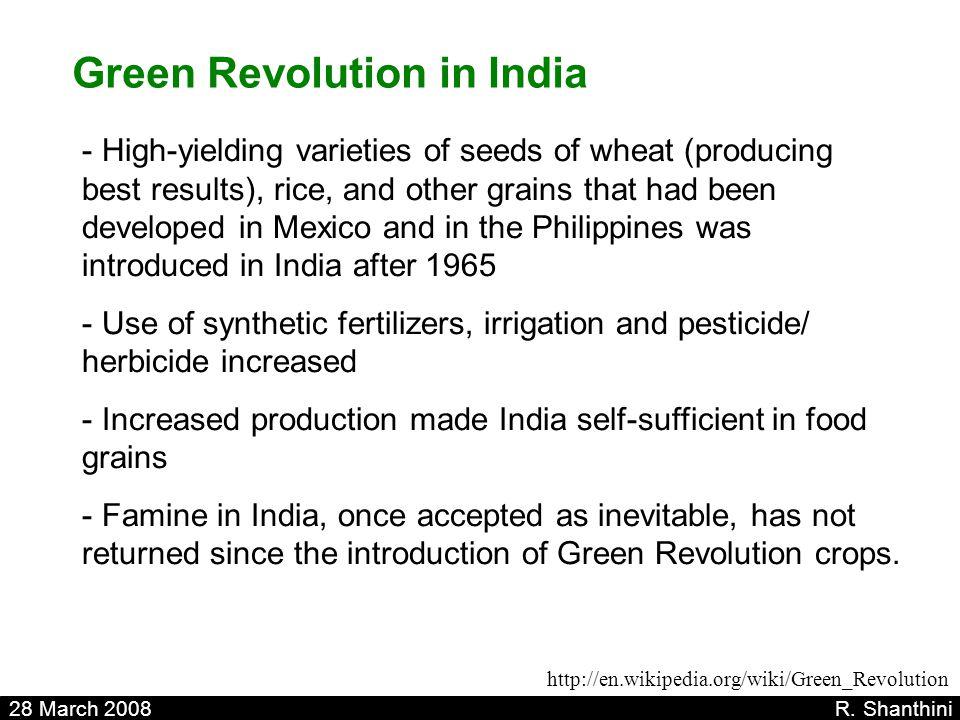Green Revolution in India