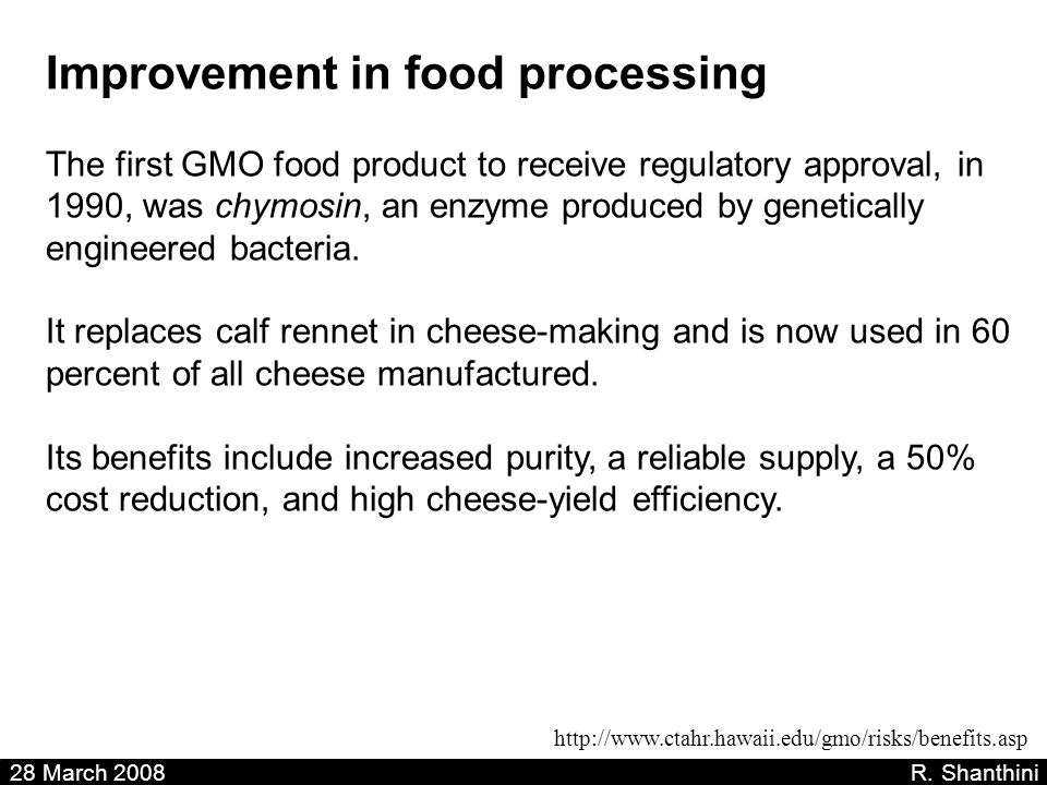 Improvement in food processing