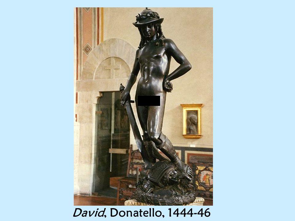 David, Donatello, 1444-46