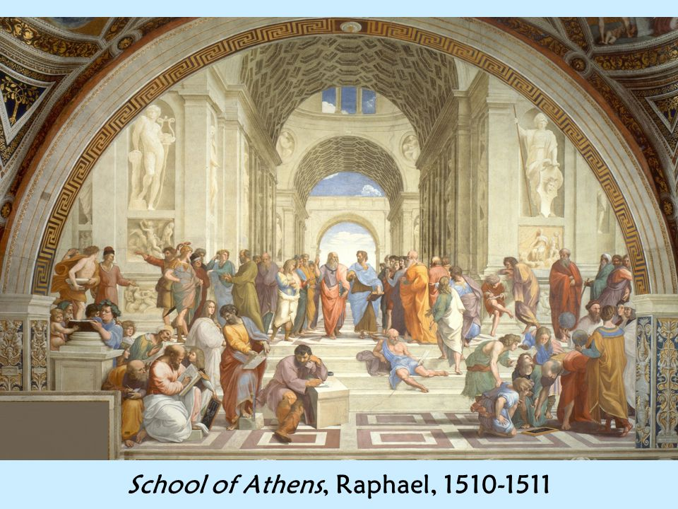 School of Athens, Raphael, 1510-1511