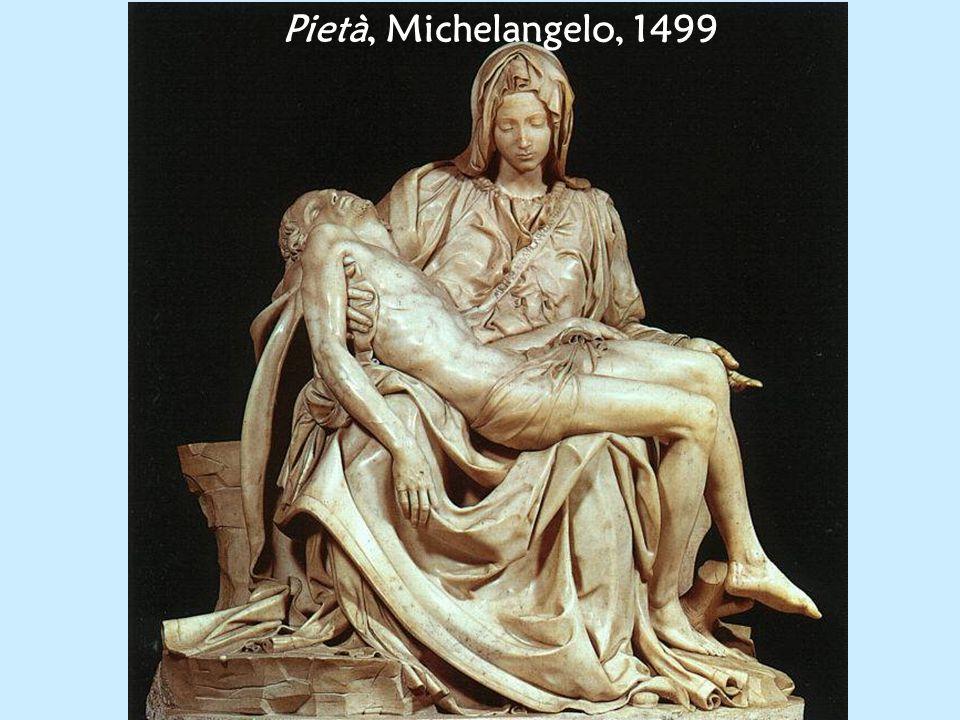 Pietà, Michelangelo, 1499
