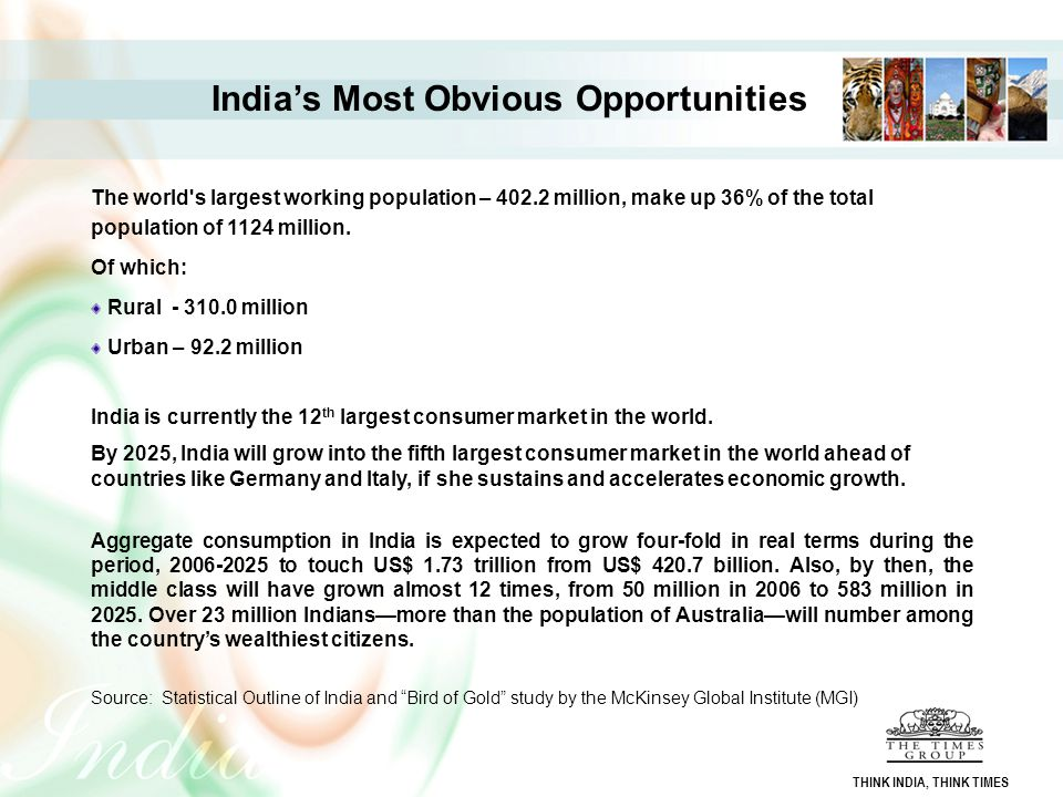 India's Most Obvious Opportunities