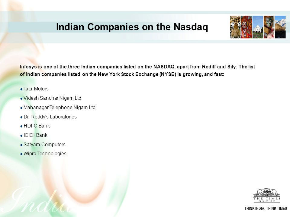 Indian Companies on the Nasdaq