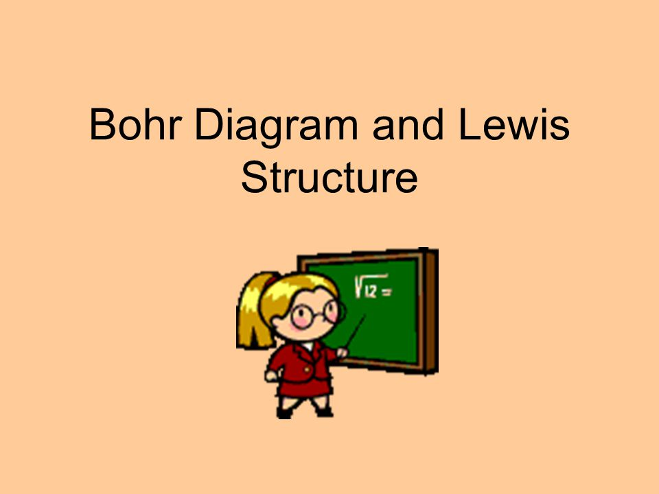 Bohr Diagram and Lewis Structure