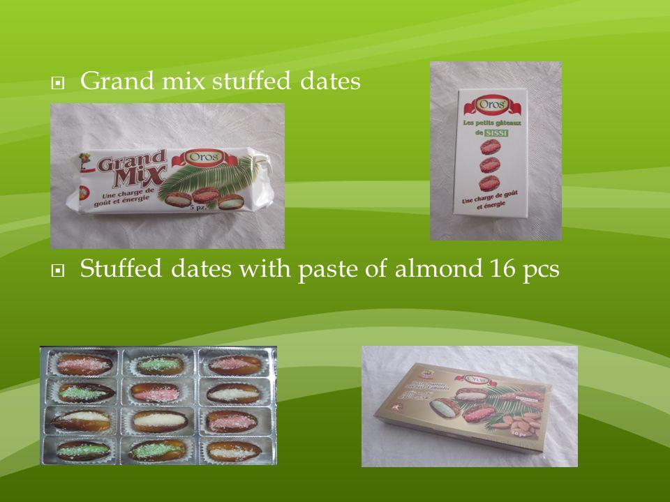 Grand mix stuffed dates