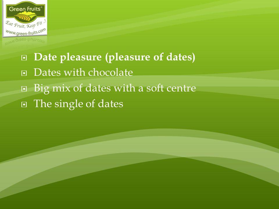 Date pleasure (pleasure of dates)