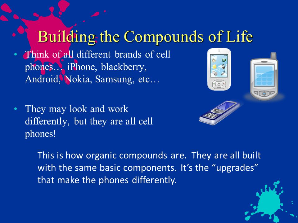 Building the Compounds of Life