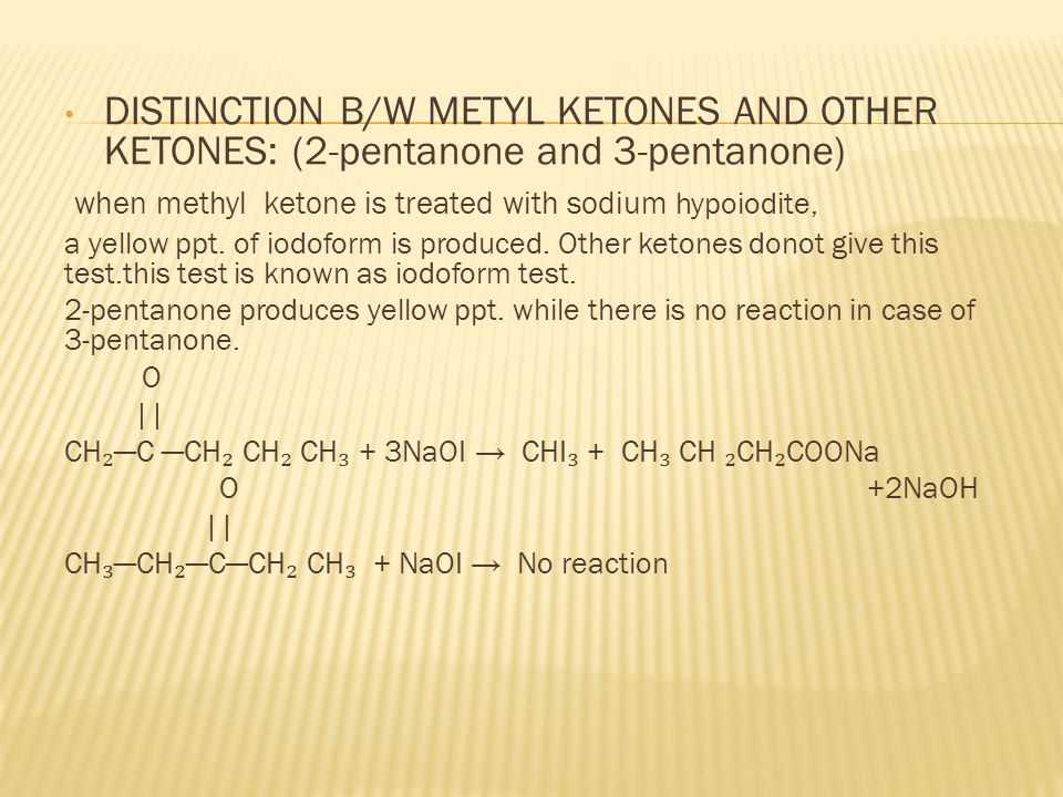 when methyl ketone is treated with sodium hypoiodite,