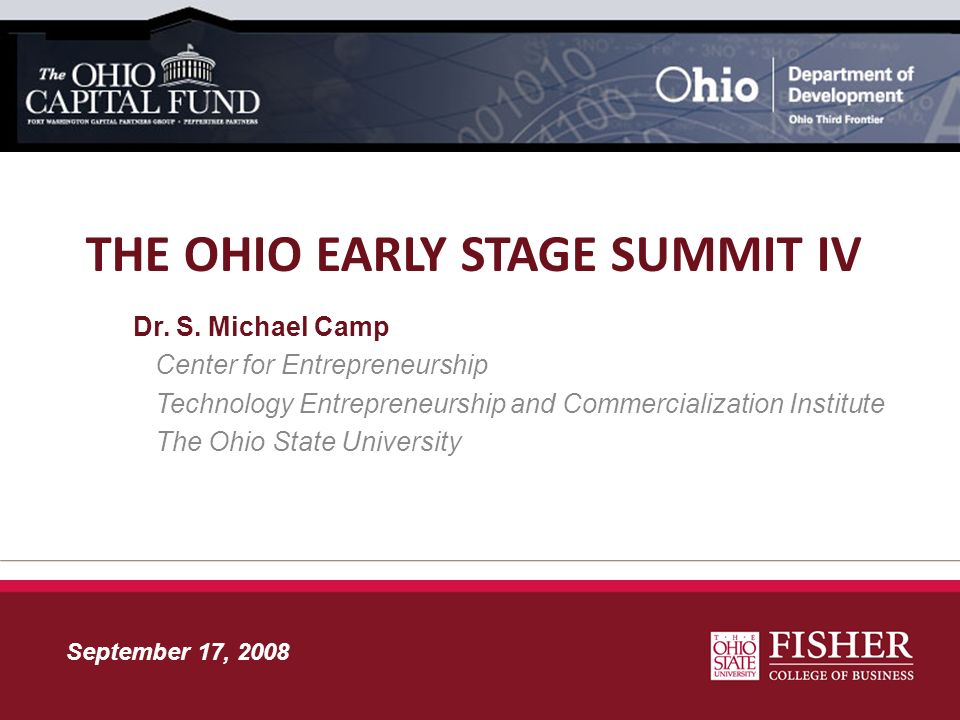 The Ohio Early Stage Summit iv